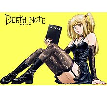 Misa - Death Note  Photographic Print