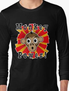 Monkey Power Long Sleeve T-Shirt