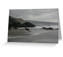 Atlantic Coast at Twilight Greeting Card
