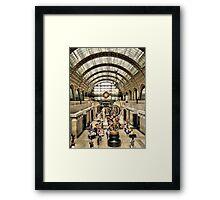 Paris - Inside The Orsay Museum Framed Print