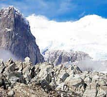 Pia Glacier, Tierra del Fuego, Patagonia, Chile by Monica Di Carlo