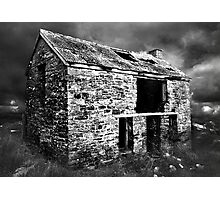 Atmospheric Barn Photographic Print
