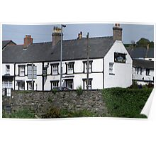 The Pen-y-Bont Inn  Llanrwst,North Wales. Poster
