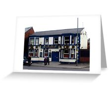 The Woodseats Pub. Greeting Card