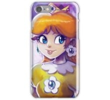 Princess Daisy Portrait Painting iPhone Case/Skin