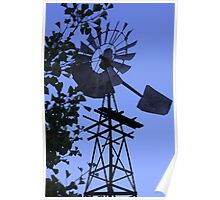 1930's Windmill! Poster