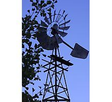 1930's Windmill! Photographic Print