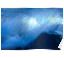 Seashore # 4 Deep Blue Sea Poster