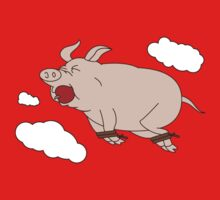 When Pigs Fly One Piece - Long Sleeve