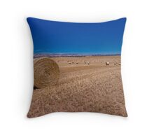 Rolling Plains Throw Pillow