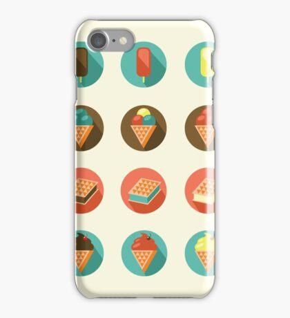 Ice-cream Icons iPhone Case/Skin