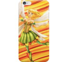 Dancing autumn fairy - By Wanderer iPhone Case/Skin