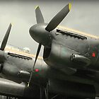 Lancaster Bomber.  by Billlee