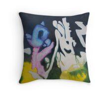 happy jin Throw Pillow