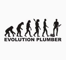 Evolution Plumber Kids Tee