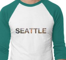 SEATTLE Men's Baseball ¾ T-Shirt