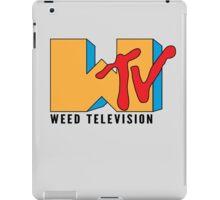 Weed TV iPad Case/Skin