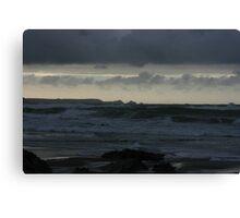 Atlantic Ocean at Twilight Canvas Print
