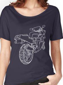 Motorbike Rear 2 Women's Relaxed Fit T-Shirt