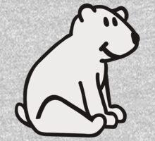 Comic polar bear One Piece - Long Sleeve