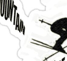 Don't Make a Mountain Out of a Mogul - Skier Sticker