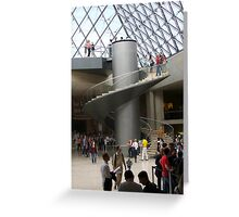 Louvre Stairway Greeting Card