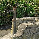 Old Water Pump at Lizard, Cornwall by Rod Johnson