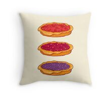 Berry Pies Throw Pillow