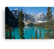 Banff National Park, Moraine Lake Metal Print