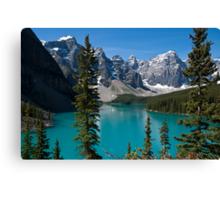 Banff National Park, Moraine Lake Canvas Print
