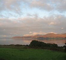 Landscape of sea and light on Arran by FarmMostyns
