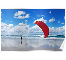 flying in the breeze Poster
