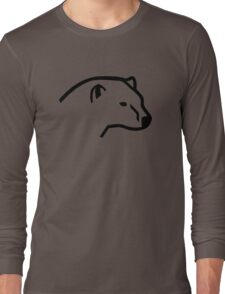 Polar bear head Long Sleeve T-Shirt