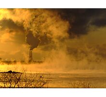 Steam and Smoke Photographic Print
