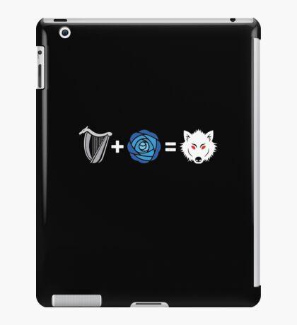 R+L=J iPad Case/Skin