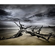 Desolate Beach Photographic Print