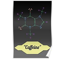 The Molecular Structure of Caffeine  Poster
