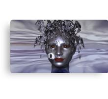 My Exploding Head Canvas Print