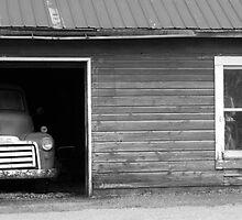 Grandad's Garage by John Beamish