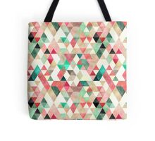 Mixed colors triangles Tote Bag