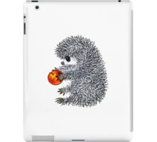 hedgehog sitting iPad Case/Skin