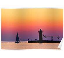 South Haven Twilight Poster