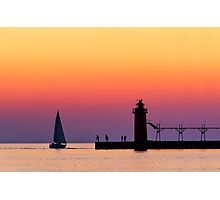 South Haven Twilight Photographic Print