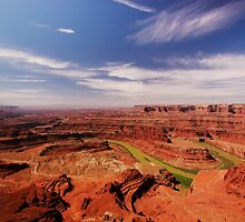 The Dead Horse Point State Park, Utah, USA by Daniel H Chui