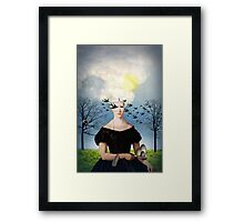 The prey Framed Print