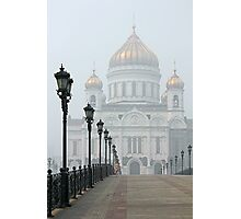 Cathedral of Christ the Savior - Moscow Photographic Print