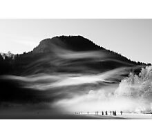 wisps of mist Photographic Print