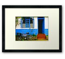 Rural Kenyan Post Office Framed Print