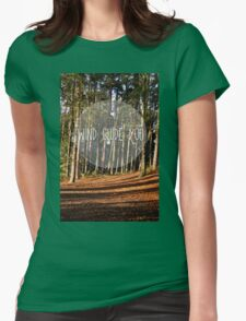 wind guide you Womens Fitted T-Shirt
