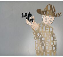 Rick Grimes by paperstitch